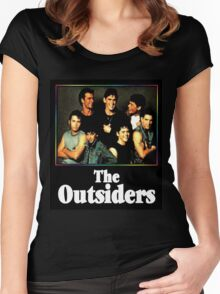 The Outsiders Movie Women's Fitted Scoop T-Shirt