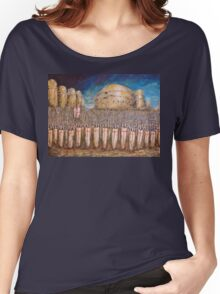 DEFENCE OF JERUSALEM Women's Relaxed Fit T-Shirt