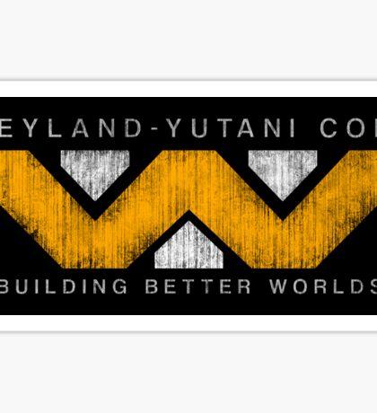 Weyland Yutani - Grunge Sticker