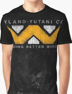 Weyland Yutani - Grunge Graphic T-Shirt