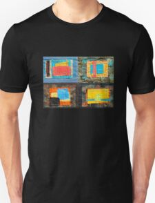 "Lilly Geometric Textile Art Series ""Loose Ends, Two"" Unisex T-Shirt"