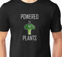 Powered by plants - broccoli Unisex T-Shirt