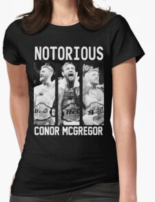 Conor McGregor Champion [FIGHT CAMP] Womens Fitted T-Shirt