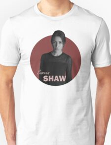 Shaw - Person of Interest - B&W T-Shirt