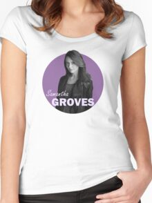 Samantha Groves A.K.A. Root - Person of interest Women's Fitted Scoop T-Shirt