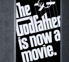 The Godfather vhs case 3 Sticker