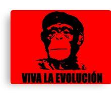 Viva la Evolucion Canvas Print