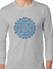 Folk mandala Long Sleeve T-Shirt
