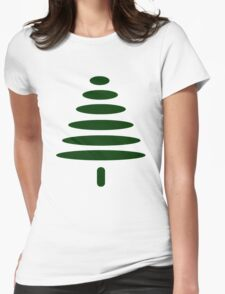 Simple Tree Womens Fitted T-Shirt