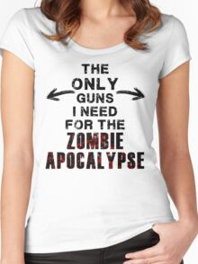 The Only Guns I Need Women's Fitted Scoop T-Shirt