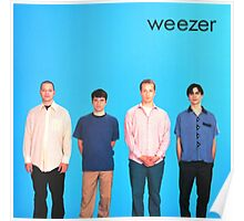 Weezer Blue Album Poster