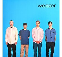 Weezer Blue Album Photographic Print