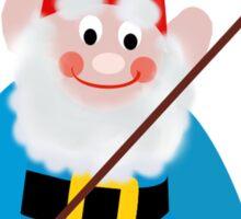 Gnome Fishing Sticker