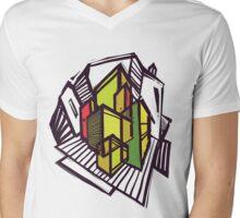Urban sketch. Mens V-Neck T-Shirt