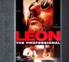 Leon the professional VHS case Sticker