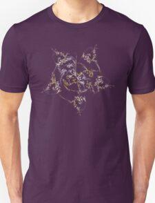 Feather Spiral Fractal T-Shirt