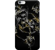 Feather Spiral Fractal iPhone Case/Skin