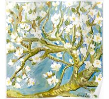 Almond in Bloom: in Quest of all things Vincent Poster