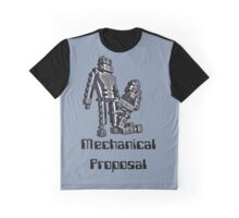 Mechanical Proposal Graphic T-Shirt