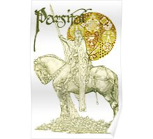 PERCEVAL LEGEND /QUEST OF HOLY GRAIL Yellow Green Fantasy Poster