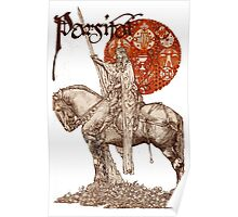 PERCEVAL LEGEND /QUEST OF HOLY GRAIL Red Fantasy Poster