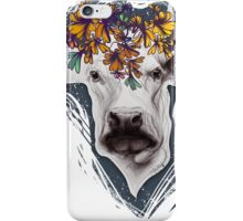 Lady cow. iPhone Case/Skin