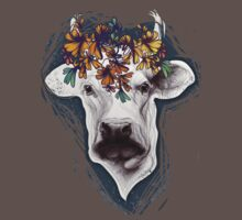 Lady cow. One Piece - Short Sleeve