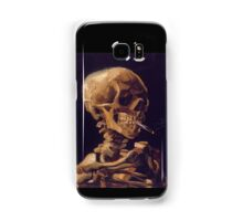 Vincent Van Gogh's 'Skull with a Burning Cigarette'  Samsung Galaxy Case/Skin
