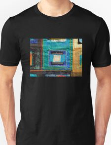 "Lilly Geometric Textile Art Series ""Loose Ends, Twelve"" Unisex T-Shirt"