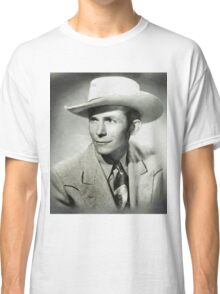 Hank Williams by MB Classic T-Shirt