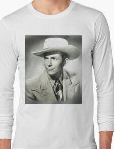 Hank Williams by MB Long Sleeve T-Shirt