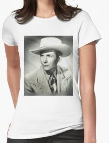 Hank Williams by MB Womens Fitted T-Shirt