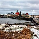 Winter at Stonehurst by Amanda White