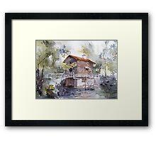 akwarelka 82 Framed Print