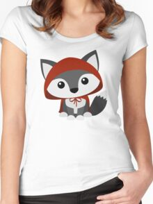 Little Red Riding Hood Women's Fitted Scoop T-Shirt