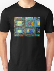 "Lilly Geometric Textile Art Series ""Loose Ends, Three"" Unisex T-Shirt"