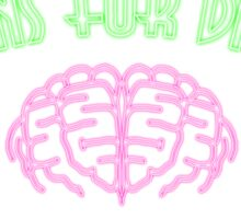 Brains for dinner Sticker