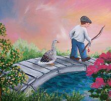 Fishing Friends by L.W. Turek