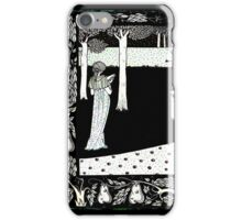 La Beale Isoud in the Garden iPhone Case/Skin