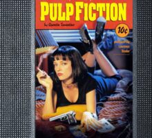Pulp Fiction case Sticker