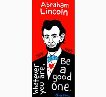 Abraham Lincoln Pop Folk Art Unisex T-Shirt