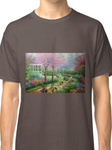 'Ridin' Dirty' - Funny Mario Kart Parody of Mario, Luigi, Bowser, Yoshi and More - Altered Thrift Art Parodies by Dave Pollot Classic T-Shirt