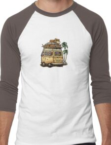 Baja Bus Men's Baseball ¾ T-Shirt