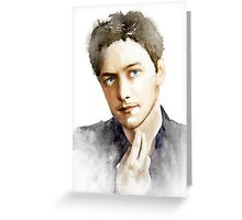 James McAvoy Greeting Card