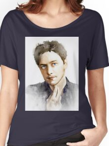 James McAvoy Women's Relaxed Fit T-Shirt