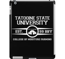 Tatooine State University (Star Wars) Black iPad Case/Skin