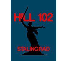Stalingrad hill 102 - Mamayev Kurgan russia Photographic Print