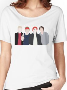 band drawing Women's Relaxed Fit T-Shirt