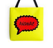 ANDWAE - YELLOW Tote Bag