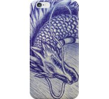 Spirited Away - Haku (pencil drawing) iPhone Case/Skin